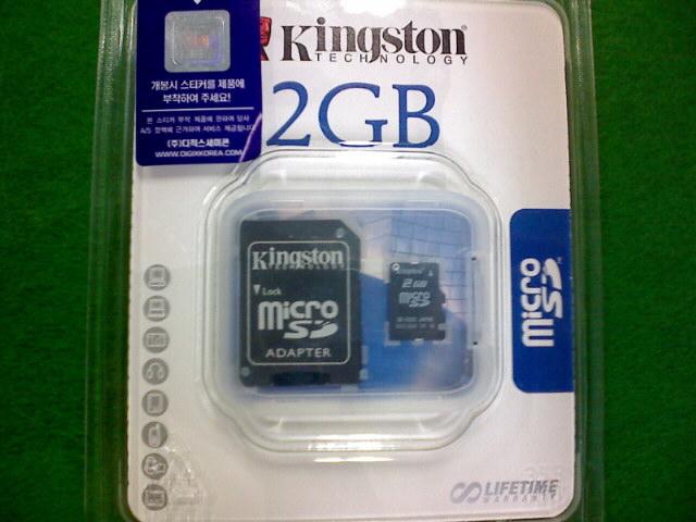 킹스톤 2g Micro SD