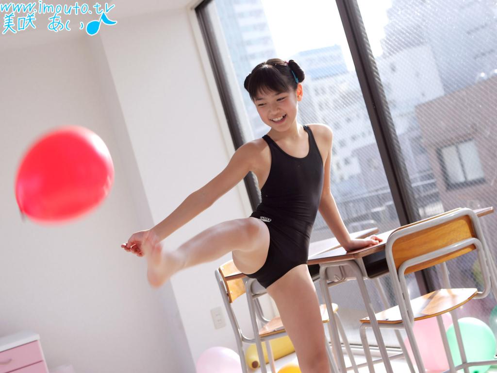 귀여운 일본 미소녀 그라비아 아이돌 모델 미사키 아이(Ai Misaki 美愛) 고화질 바탕화면 20090616_16