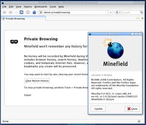 Firefox 3.1 beta