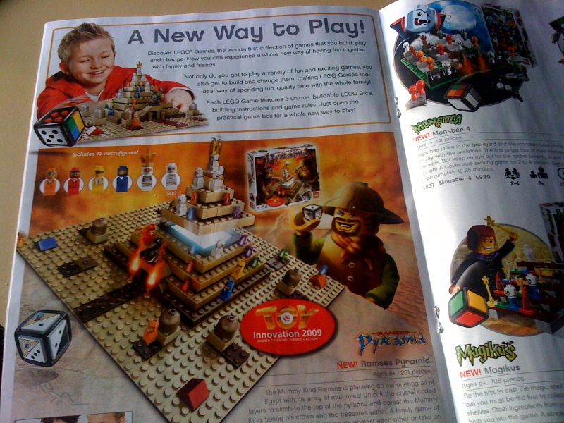 Lego Board Game Line Launched
