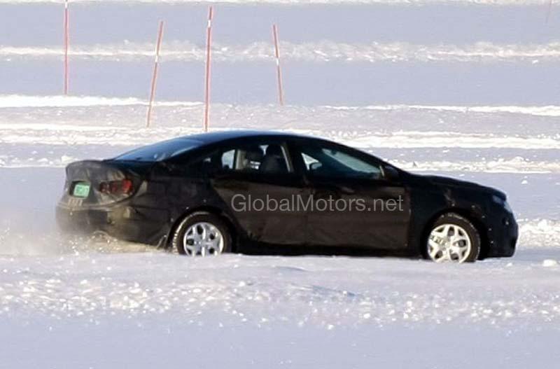 Hyundai YF Sonata Spyshots