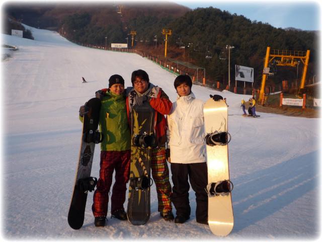 2008.12.13-스타힐리조트 첫 보드타다!