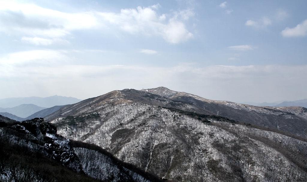 눈덮힌 천성산