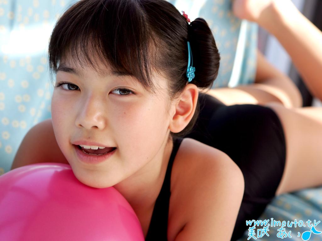 귀여운 일본 미소녀 그라비아 아이돌 모델 미사키 아이(Ai Misaki 美愛) 고화질 바탕화면 20090616_21