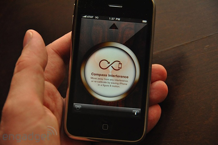 Initializing Compass on iPhone 3G S