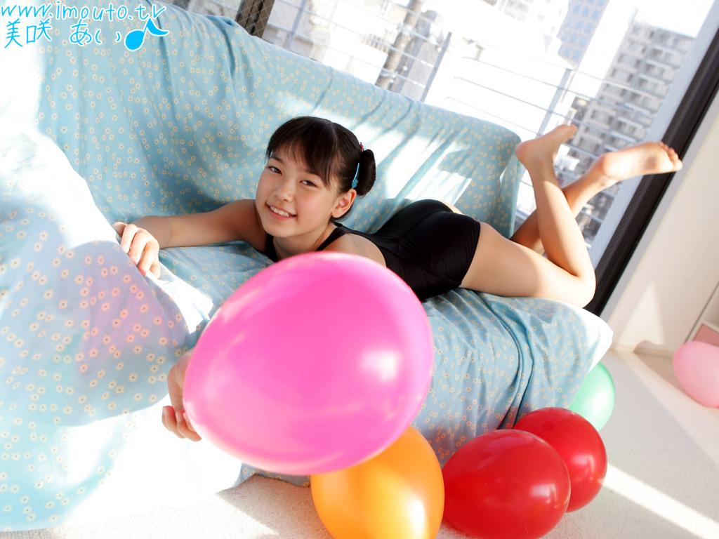 귀여운 일본 미소녀 그라비아 아이돌 모델 미사키 아이(Ai Misaki 美愛) 고화질 바탕화면 20090616_22