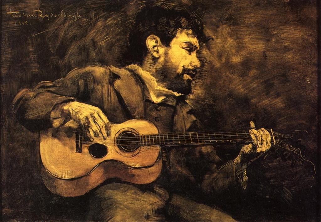연주자의 초상 - 기타리스트 (Guitarist)