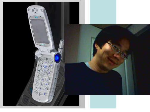 큐리텔 PD-6000 핸드폰