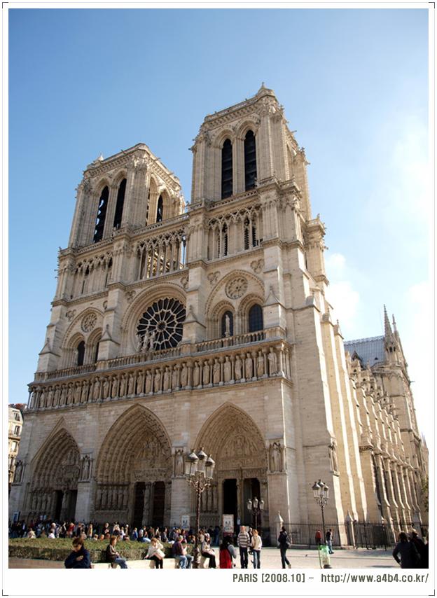 [파리] 노트르담 대성당 (Cathédrale Notre-Dame) - 성당풍경 및 종탑올라가기