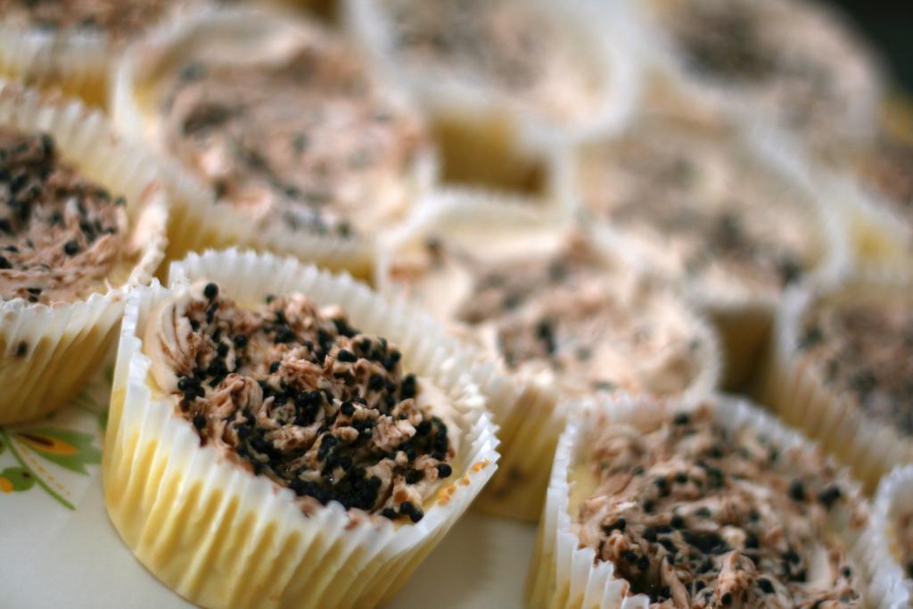 캐비어 치즈컵 케익