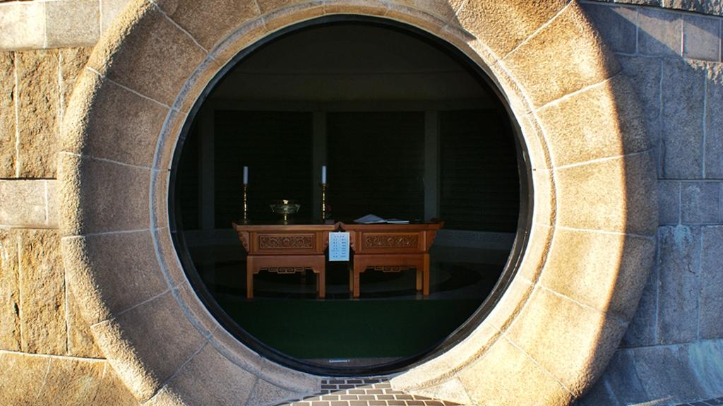 민주공원 충헌탑