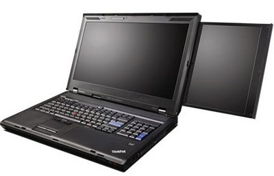 레노보의 TWO SCREEN 노트북