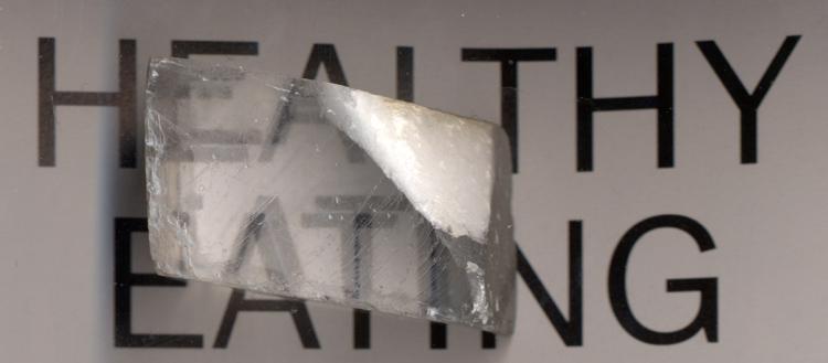 Calcite - a Birefringent Material