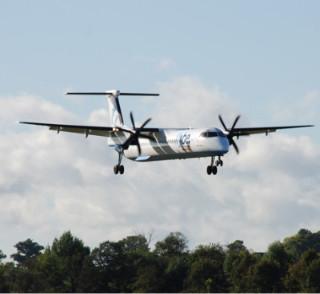 플라이비 항공의 Q400 기종