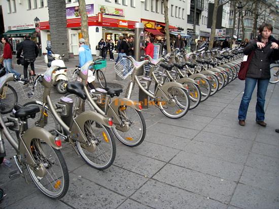 [파리] [교통] 자전거 렌탈 시스템 '밸리브 Velib'
