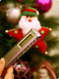 나만의 크리스마스 송을 만들자! ICD-SX78
