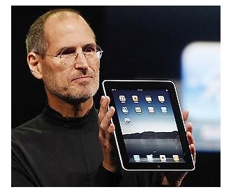 iPad가 나타났다.