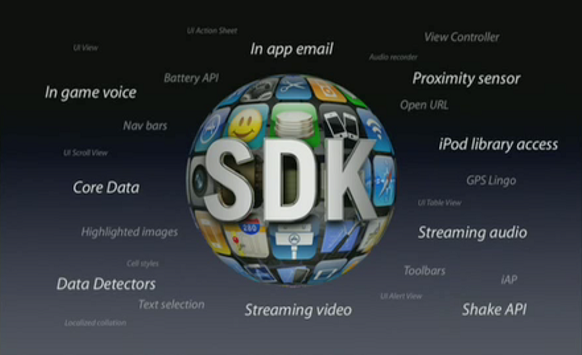 Developer Features in iPhone OS 3.0