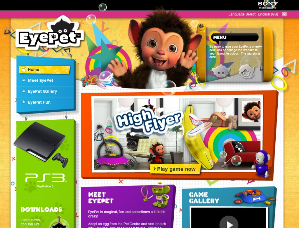 EyePet for Sony PlayStation 3