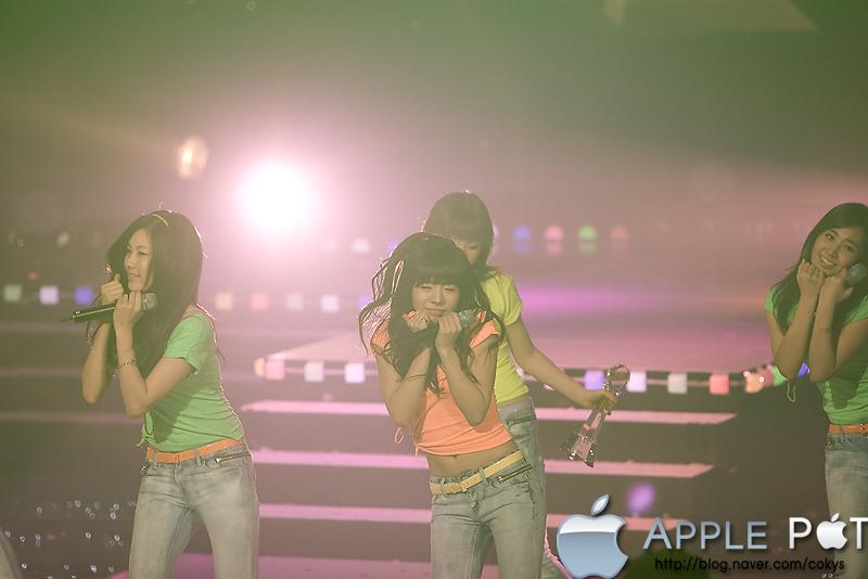090206 뮤직뱅크 소녀시대 Gee
