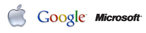Apple vs Google vs Microsoft