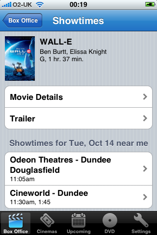 iPhone Apps - Movies