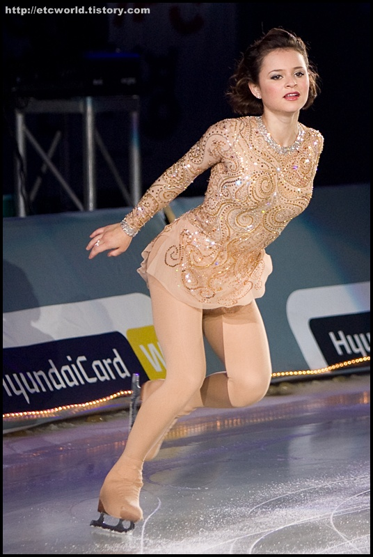 샤샤 코헨 (Sasha Cohen). '현대카드슈퍼매치 Ⅶ - '08 Superstars on Ice'  2부